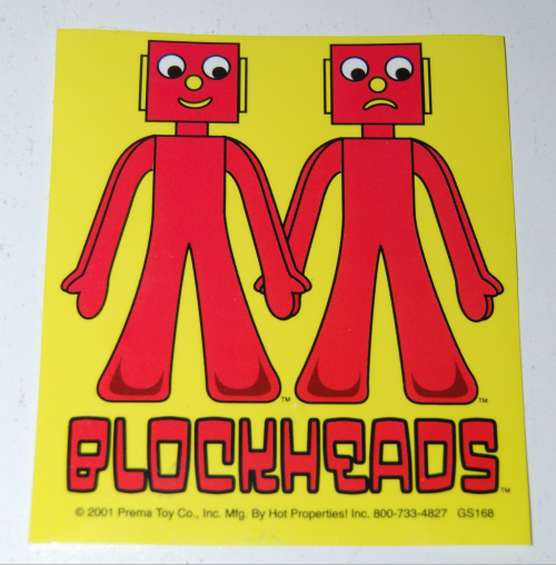 Gumby stickers 2001