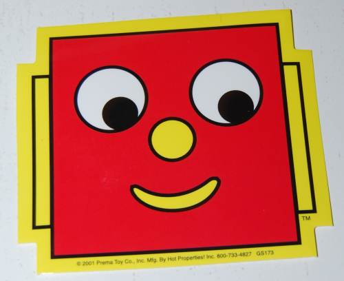 Gumby stickers 2001 1
