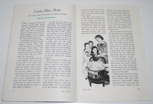 Jack & jill magazine march 1954 4