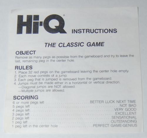 Hi q game 2