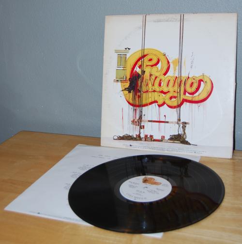 Chicago vinyl x