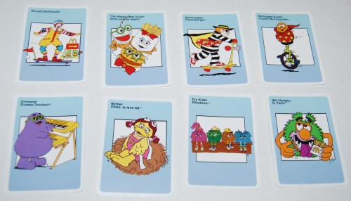 Mcdonald's happy meal card games 5