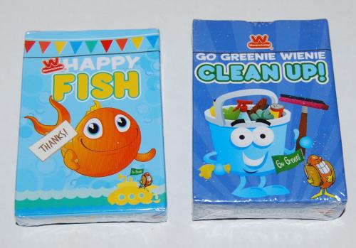 Wienerschnitzel card games