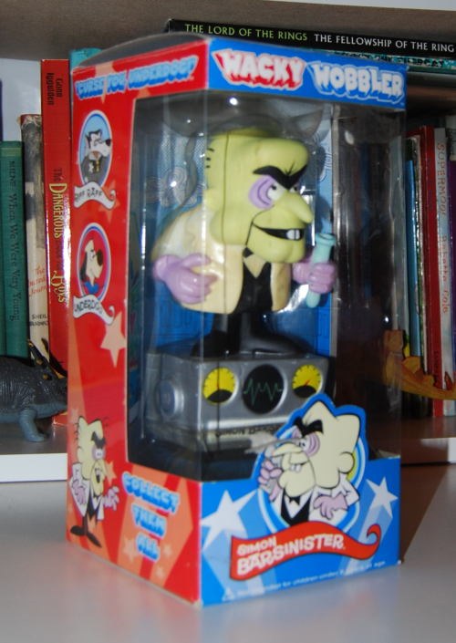 Simon bar sinister wacky wobbler