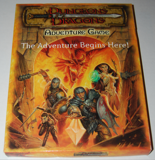Dungeons & dragons adventure game