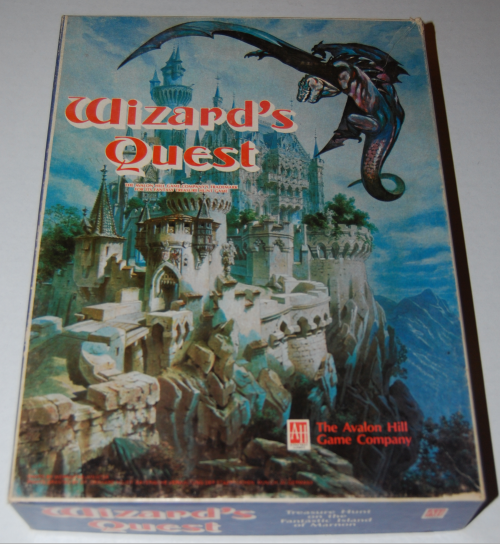 Wizard's quest avalon hill game