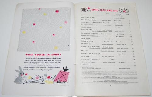 Jack & jill magazine april 1944 x