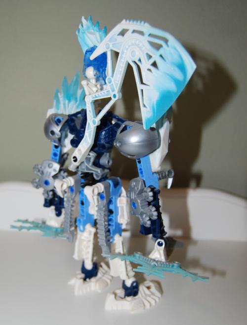 Raven's custom bionicle figures 3x