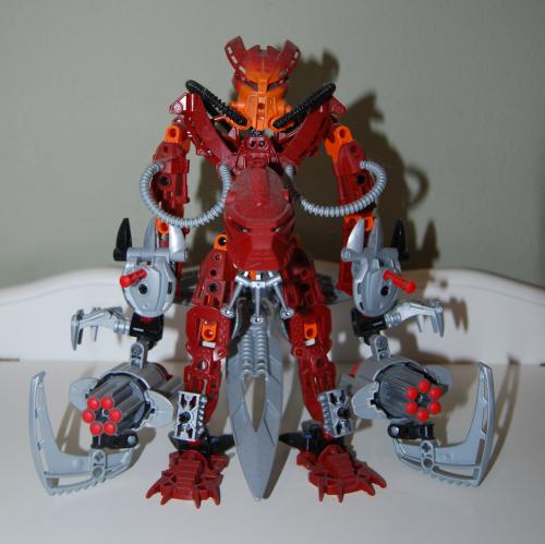 Raven's custom bionicle figures 4