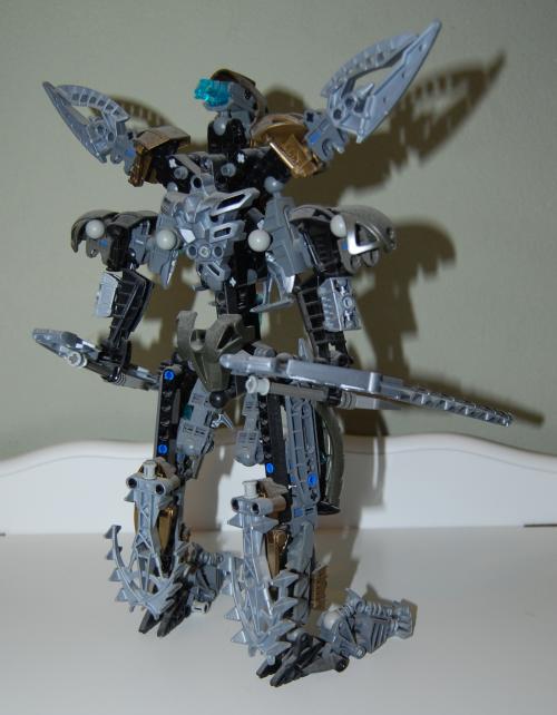 Raven's custom bionicle figures 6x