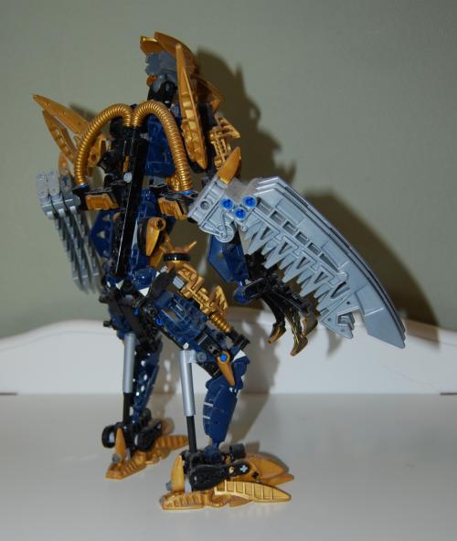 Raven's custom bionicle figures 10x
