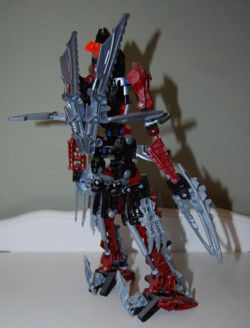 Raven's custom bionicle figures 12x