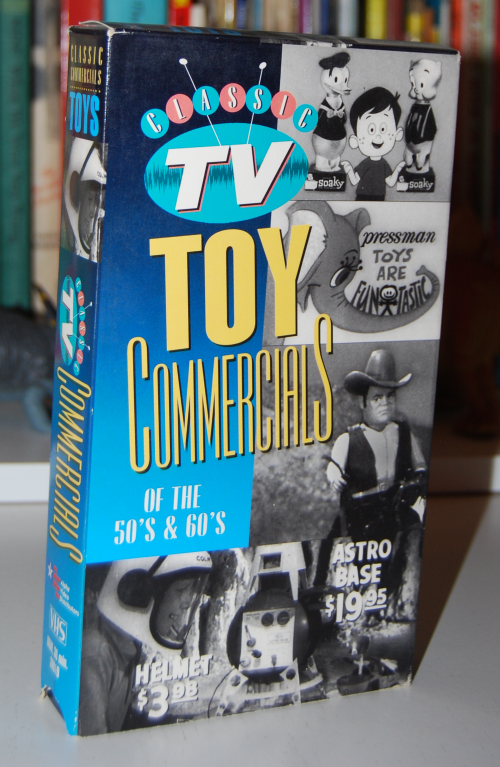 Vintage tv toy commercials vhs
