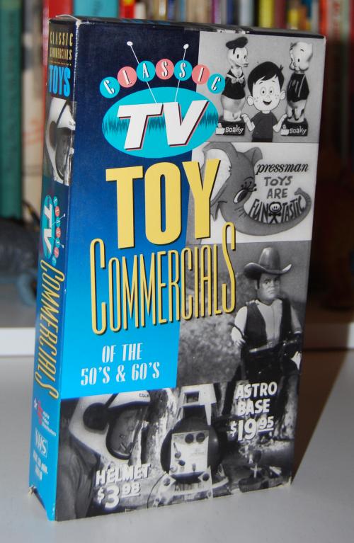 Vintage tv toy commercials vhs