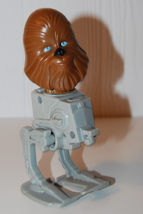 Chewbacca windup toy