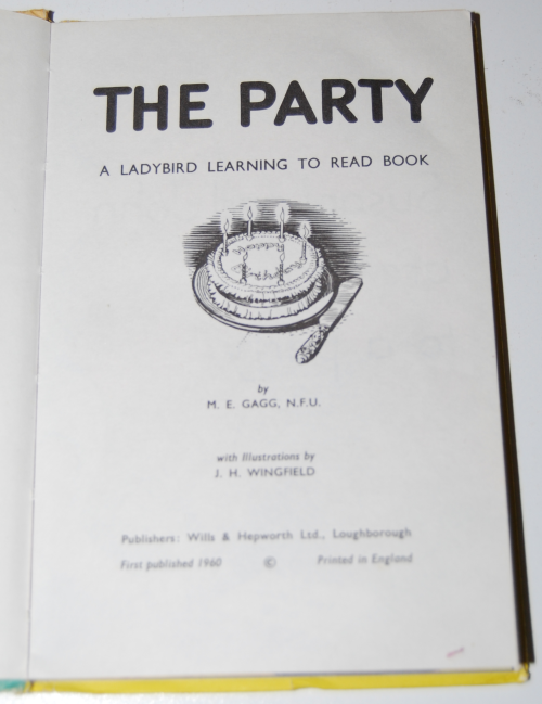 Ladybird book the party 1