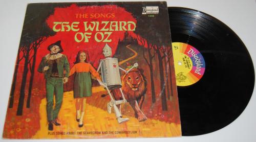 Wizard of oz vinyl