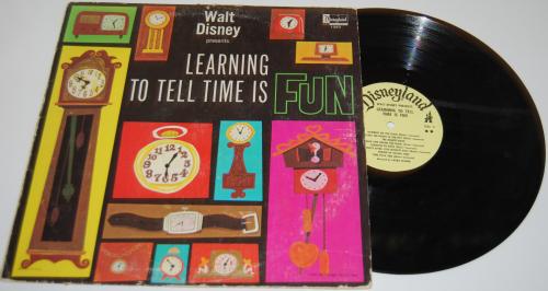 Disney tell time vinyl