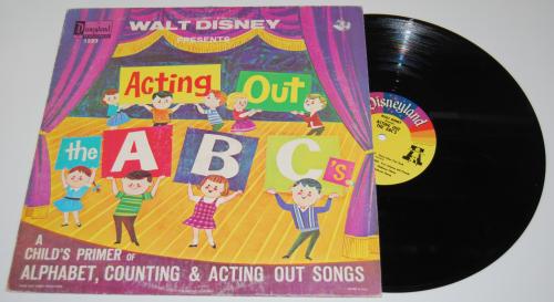 Disney abcs vinyl