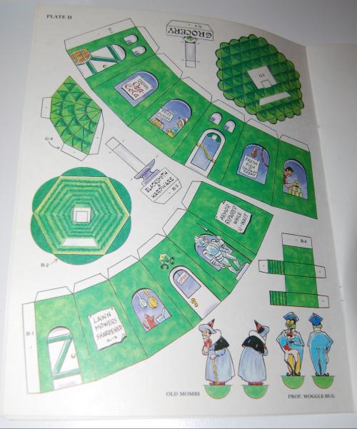 Cut & assemble the emerald city of oz 5