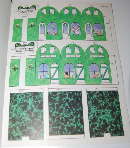 Cut & assemble the emerald city of oz 7