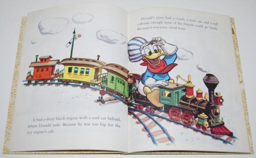 Little golden book donald duck's toy train 3