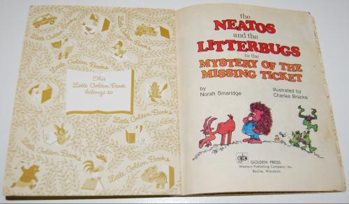 Little golden book neatos & litterbugs 1