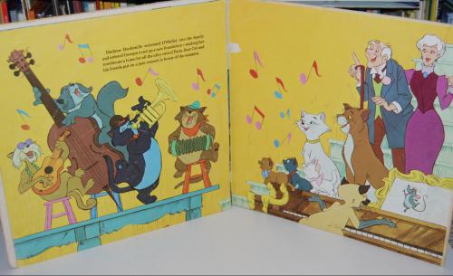 Disney aristocats vinyl 1
