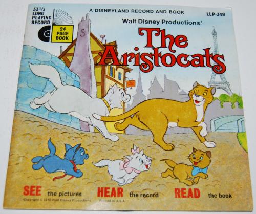 Disney aristocats vinyl record