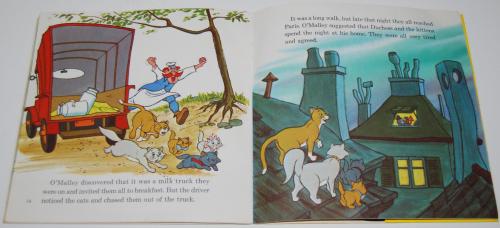Disney aristocats vinyl record 4