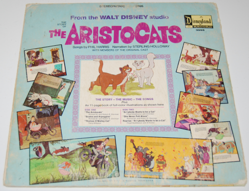 Disney aristocats vinyl x