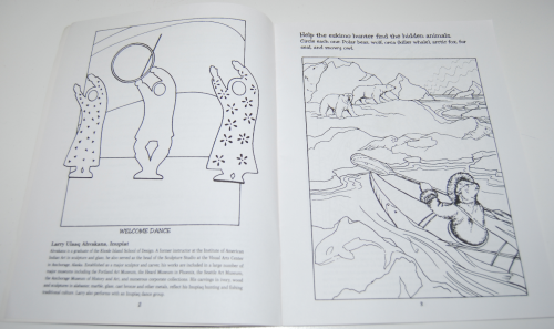 American indian art nw coloring book 2