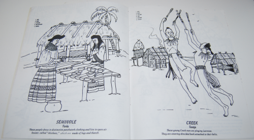 American indians coloring book 3