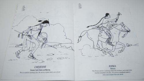 American indians coloring book 5