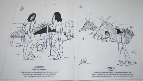American indians coloring book 6