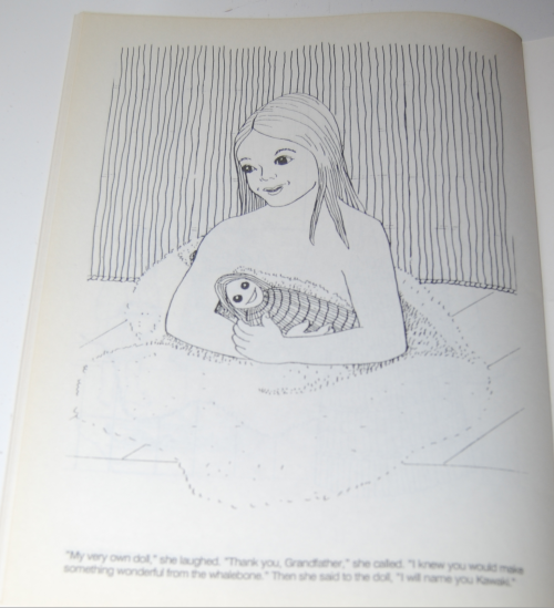 American indian girl coloring book tinka 11
