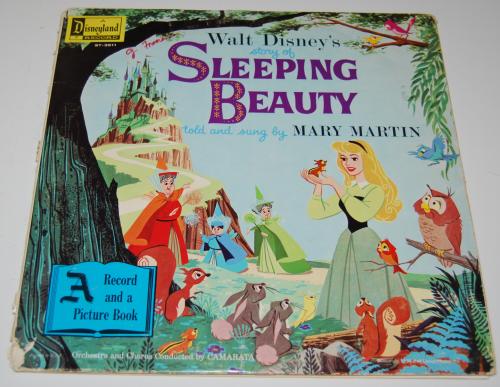 Disney sleeping beauty vinyl