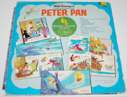 Disney peter pan vinyl 2