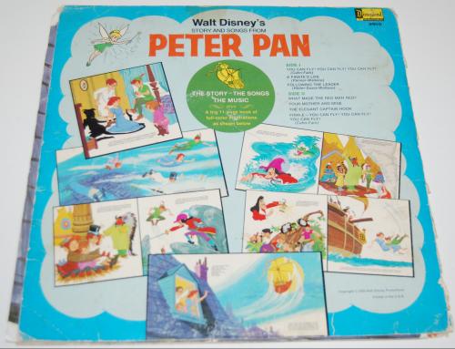 Disney peter pan vinyl 2