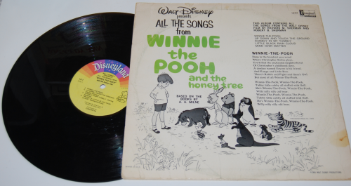 Disney pooh vinyl x