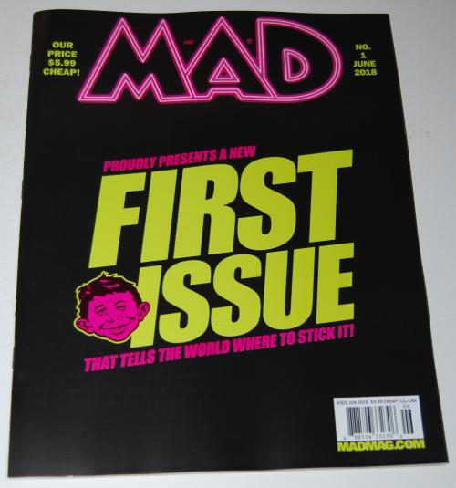 Mad magazine 1 2018