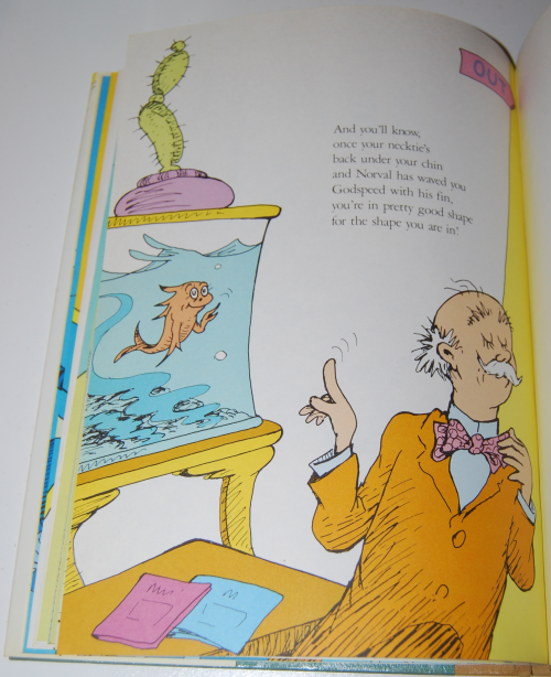 Dr seuss you're only old once 10