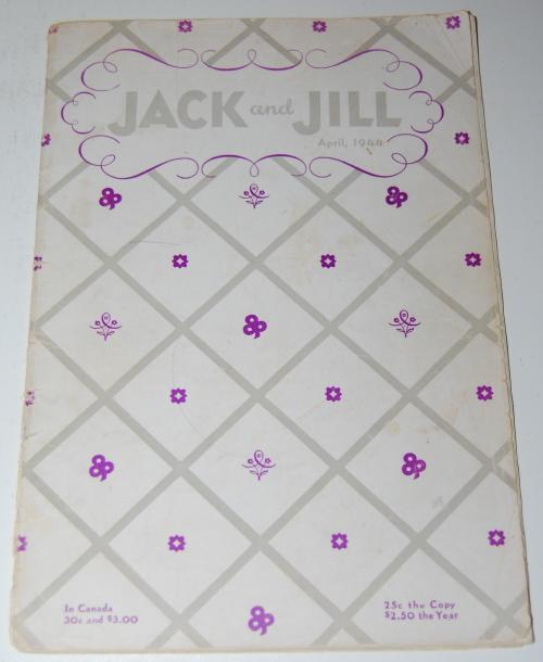 Jack & jill magazine april 1944