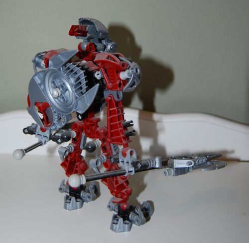Raven's custom bionicle figures 2x