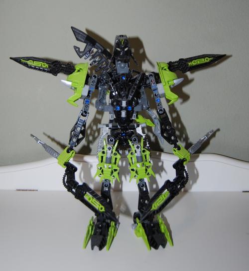 Raven's custom bionicle figures 5