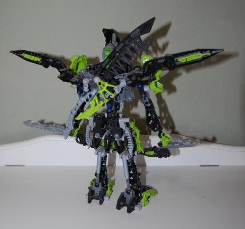Raven's custom bionicle figures 5x