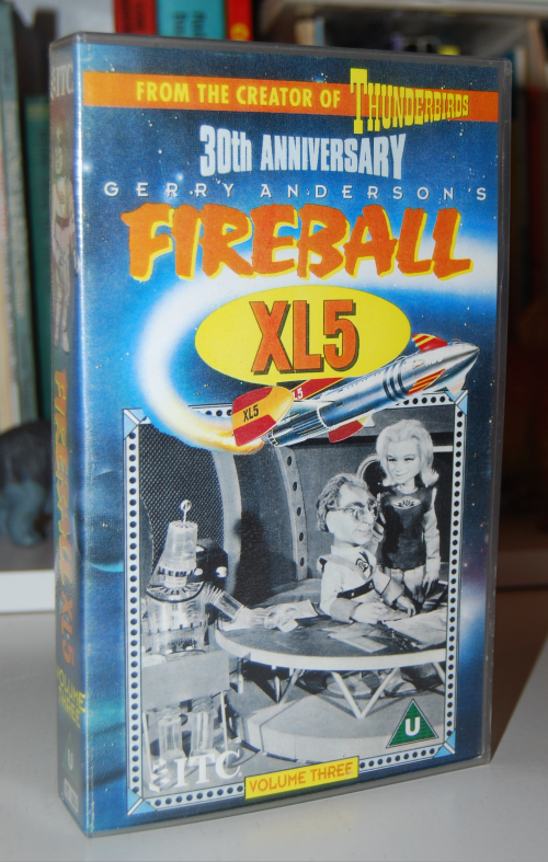 Fireball xl5 vhs