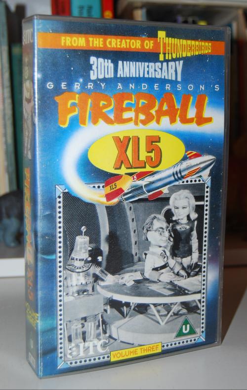 Fireball xl5 vhs