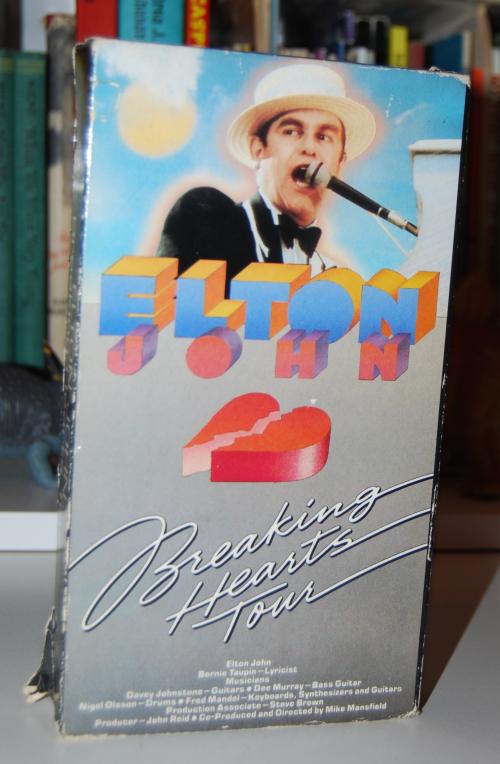 Elton john vhs