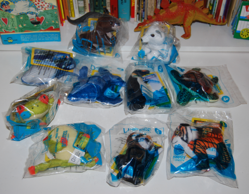 Nat geo happy meal toys